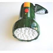LED фенер с акумулаторна батерия и светодиоди за четене отстрани