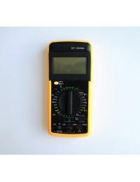 Мултицет с термосонда и зумер DT-9208A VAC/VDC | AAC/ADC | OHM | °C | F | Hz