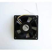 Български алуминиев вентилатор аксиален 220V 0,125A 130х130х40mm